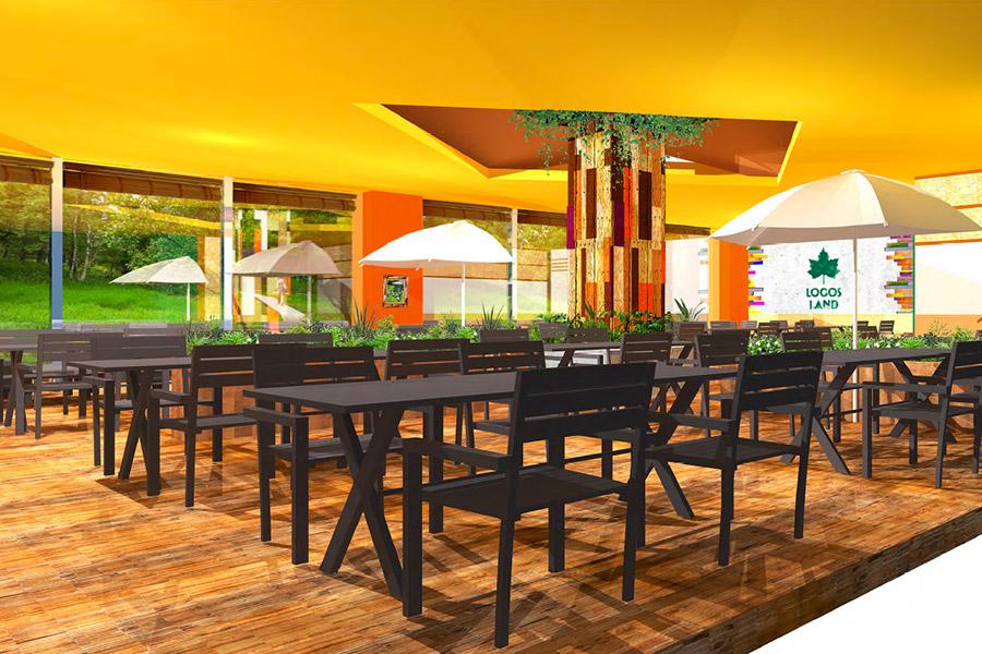 「ロゴスファミリーレストラン」の内観イメージ