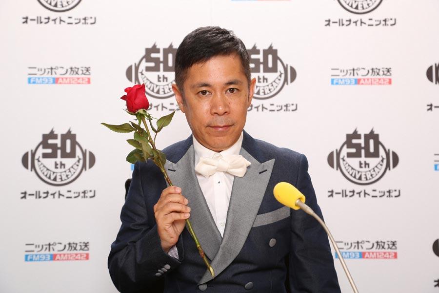 「オールナイトニッポン」で毎週木曜日を担当するナインティナイン岡村隆史
