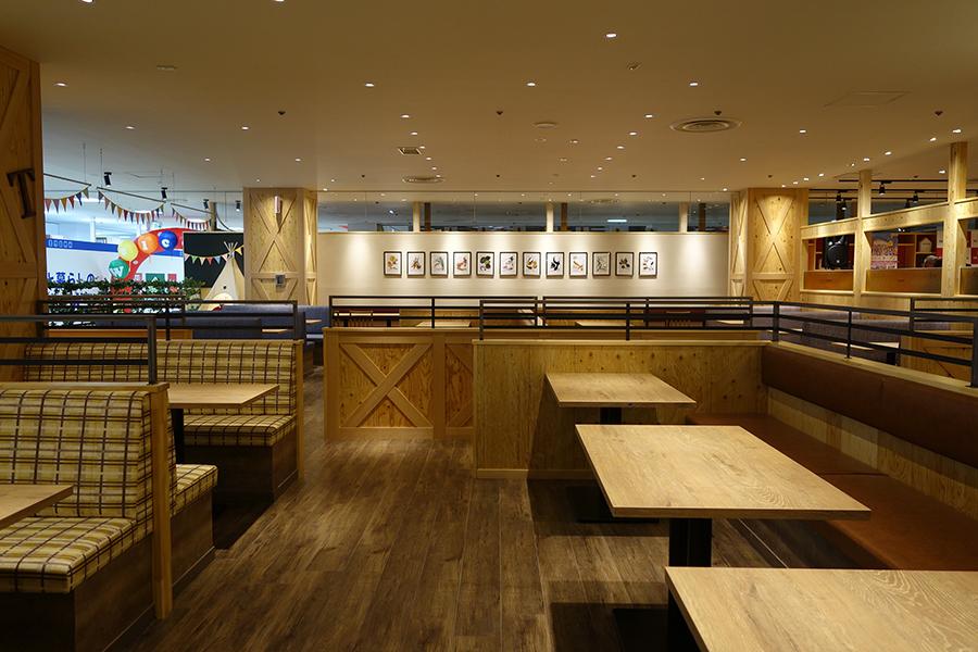250席ある和洋中のブッフェレストラン「彩食厨房 HEIJYO GRILL」