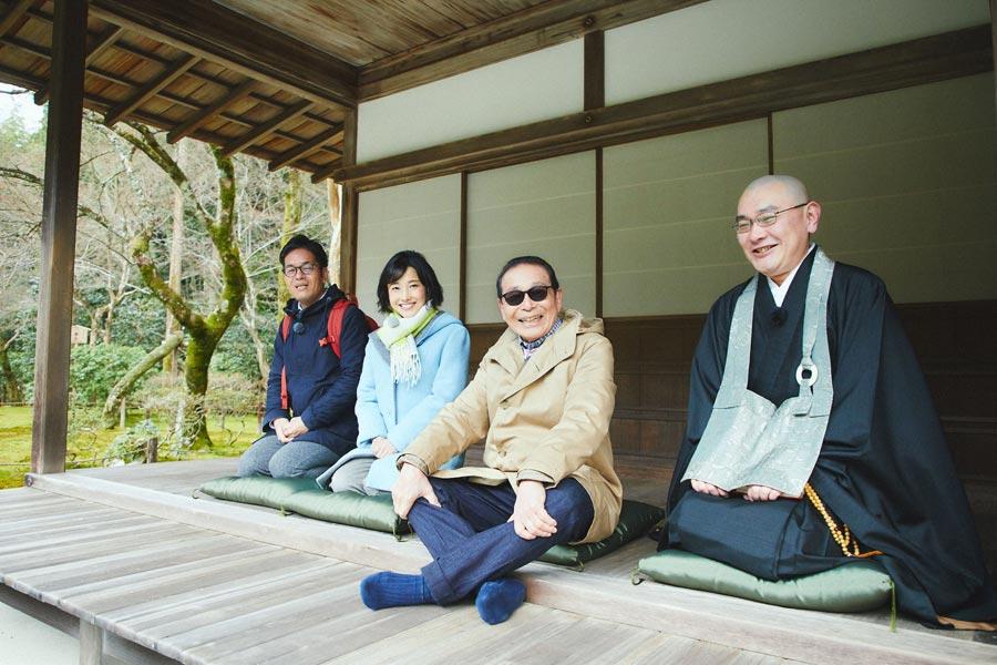 銀閣寺や哲学の道がある東山の北部を巡るタモリと新パートナーの林田アナ