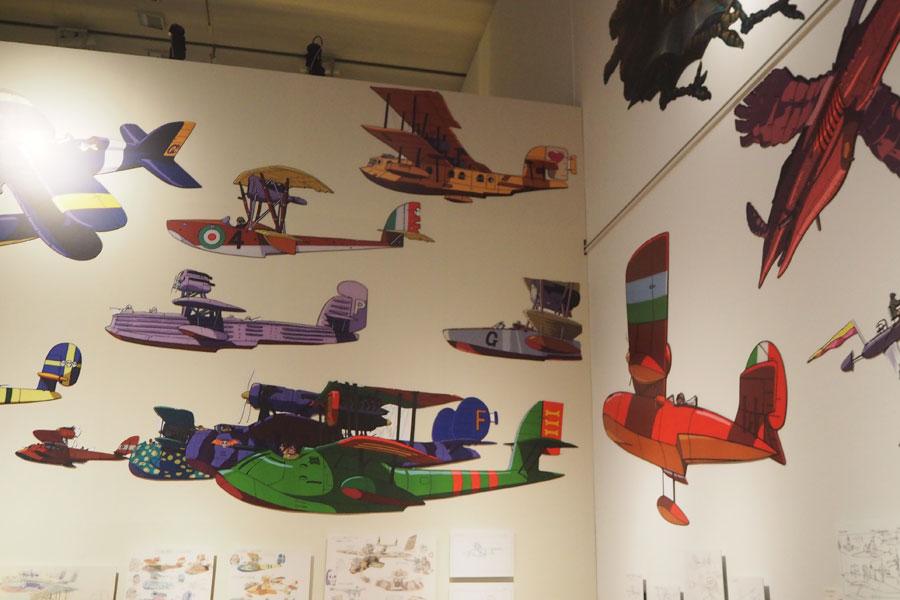 ジブリ作品に出てくる空とぶ機械 (C)Studio Ghibli