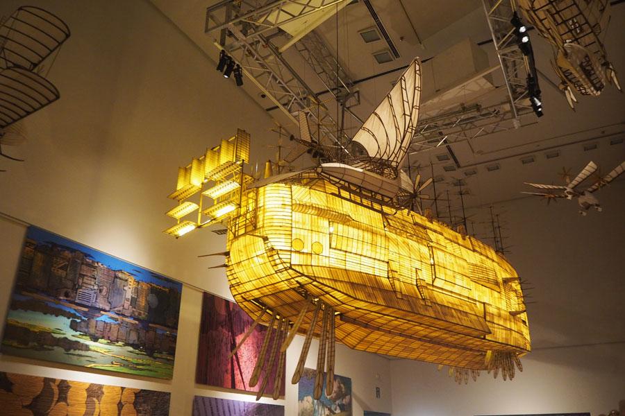 実際に動く『風の谷のナウシカ』飛行船