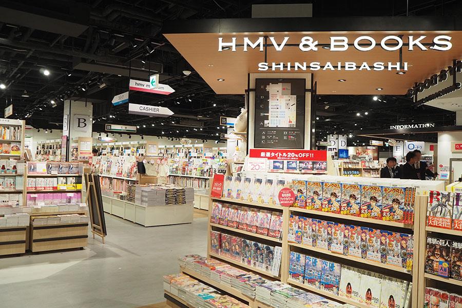 書籍:CD/DVD:雑貨などが、6:3:1の割合で構成される店内