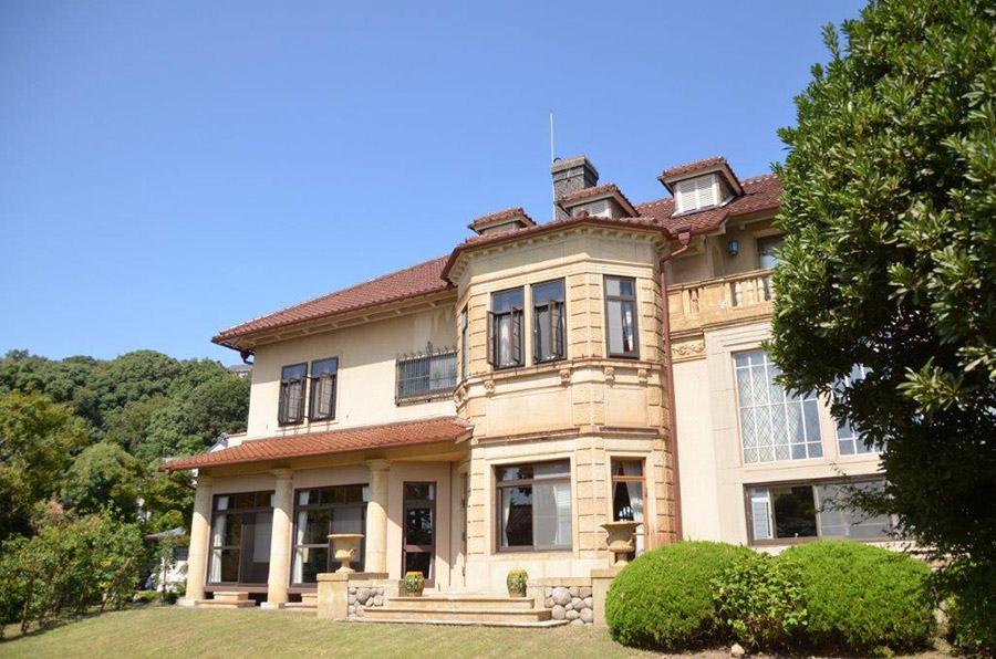 乾新治氏の邸宅として建てられたモダニズム建築の傑作「旧乾邸」(神戸市内)