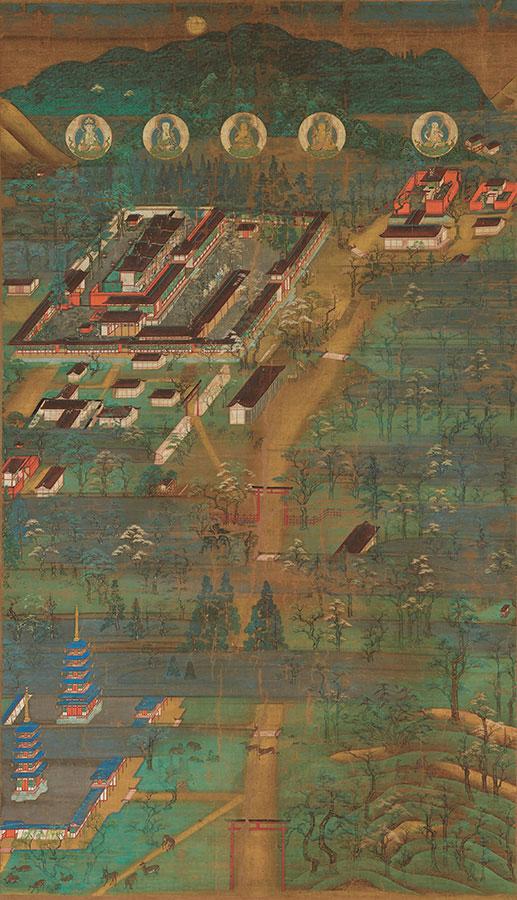 重要文化財 春日宮曼荼羅 1幅 鎌倉時代(13世紀)奈良・南市町自治会