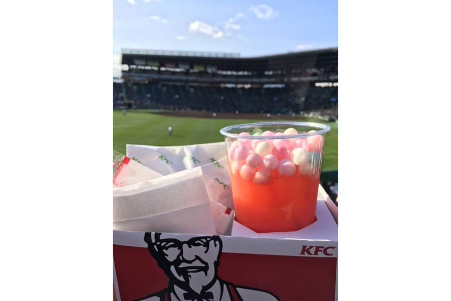 KFC甲子園球場限定のケンタカクテルトマト、600円