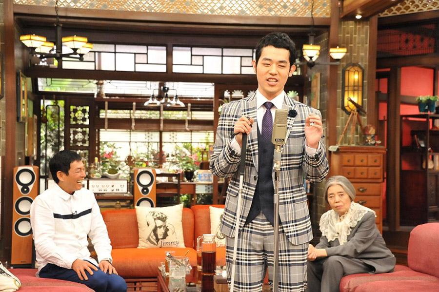 念願の『さんまのまんま』に初出演を果たした盲目のピン芸人・濱田祐太郎