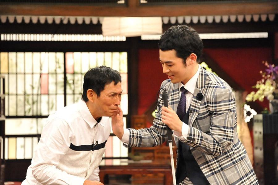 さんまの印象について、「テレビで聞いていた通り、本当に明るくて面白くてパワーがあって」と濱田祐太郎