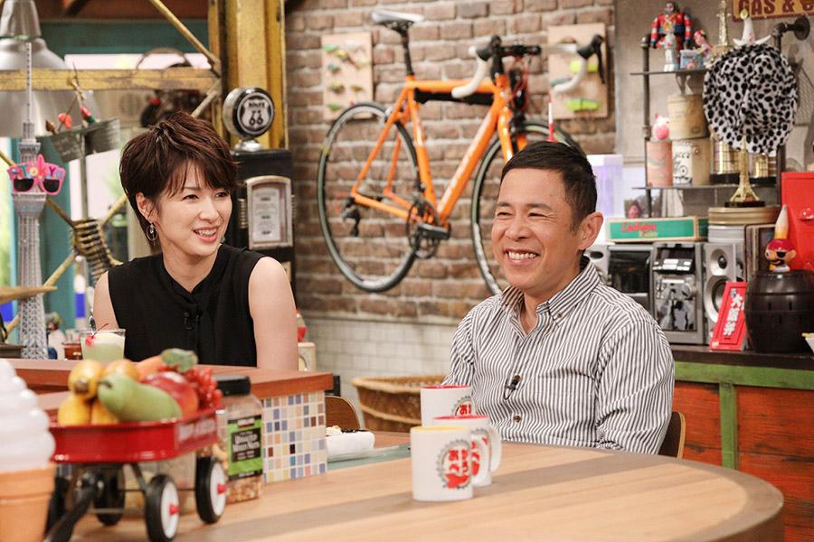 夫との馴れ初めについて、吉瀬美智子を問い詰める岡村隆史