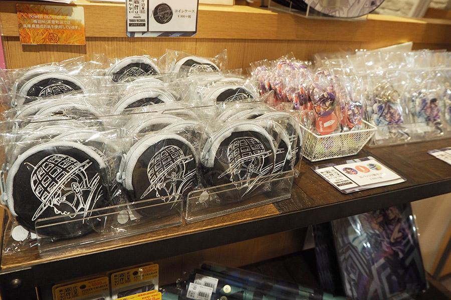 岸辺露伴は動かない×TOWER RECORDS コインケース(972円)