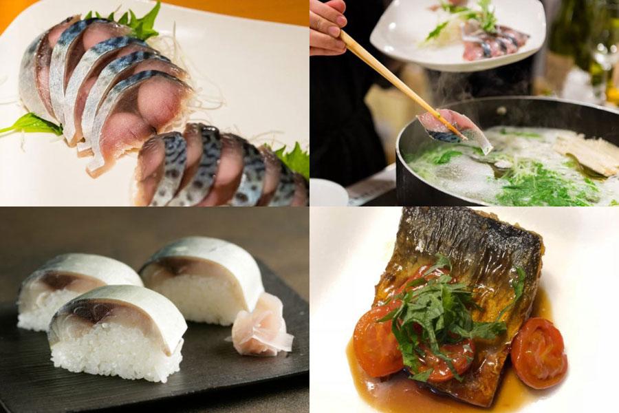 そのほか、鯖寿司が人気の大阪「魚庵」から、「金華鯖」「泳ぎ鯖」棒寿司、そして鯖寿司界のニューウェーブ「鯖寿司茶漬け」も登場