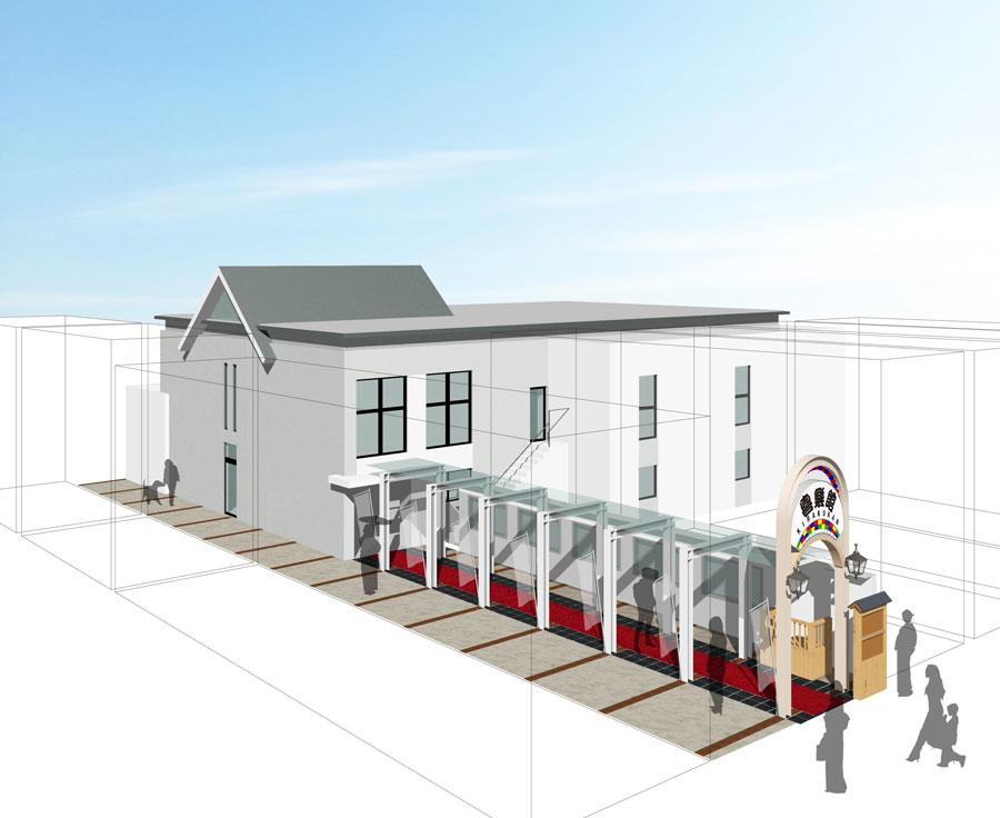 「神戸新開地・喜楽館」の外観イメージ