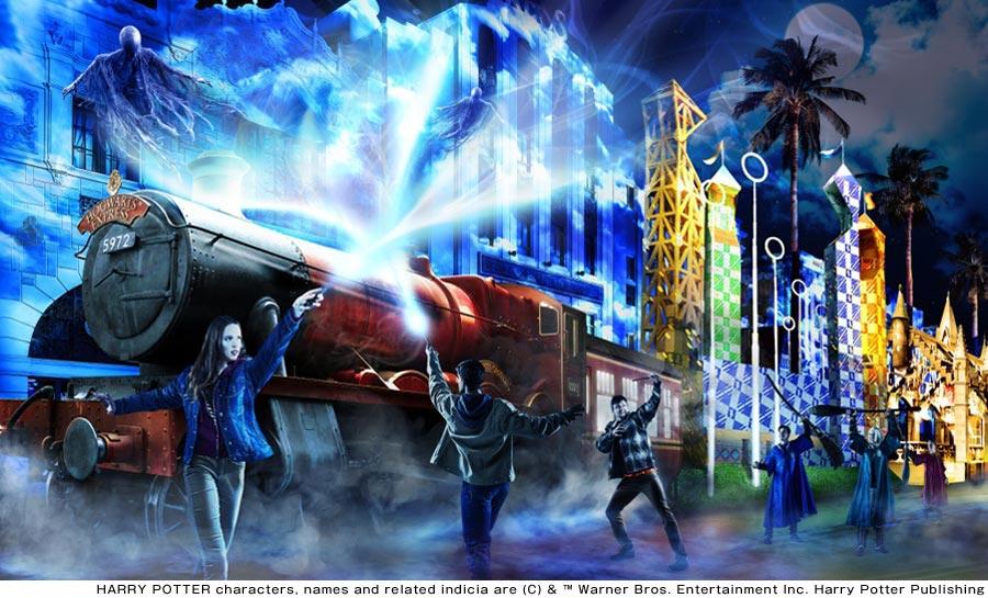 魔法魔術学校の生徒たちと体験する『ハリー・ポッター』の世界