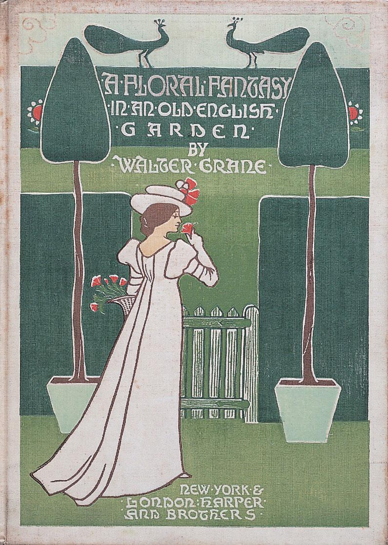 ウォルター・クレイン《花のファンタジー 古きイングランドの庭にて』 1899年 photo ©Brian Trust Inc.