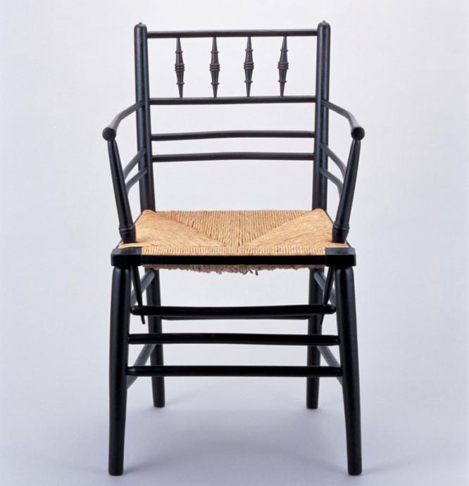 《サセックス・シリーズの肘掛け椅子》 1860年頃 photo ©Brian Trust Inc.