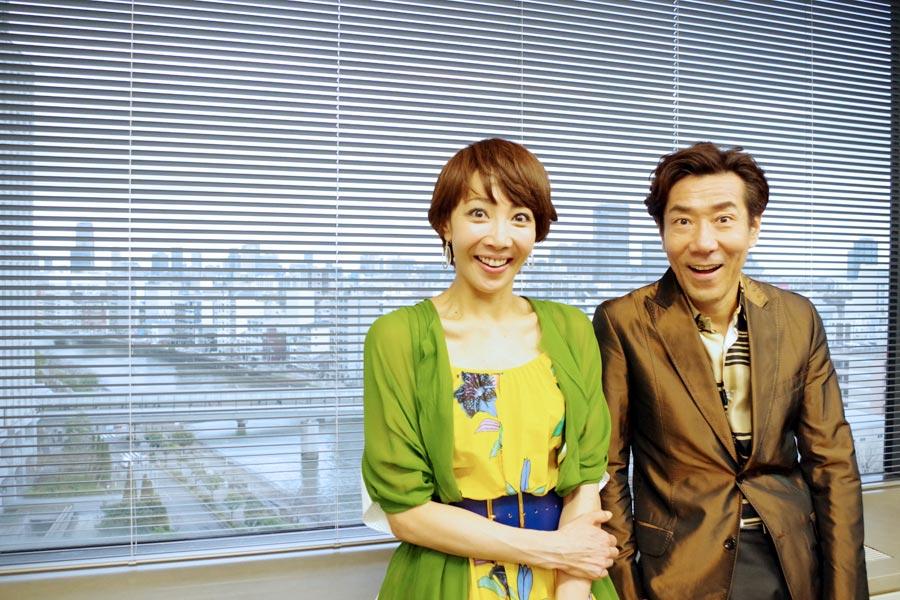 岸谷「大阪のお客さんは一番ブロードウェイの観客に近い。素直に声に出して反応してくれる」柚希「それはすごく感じますね」