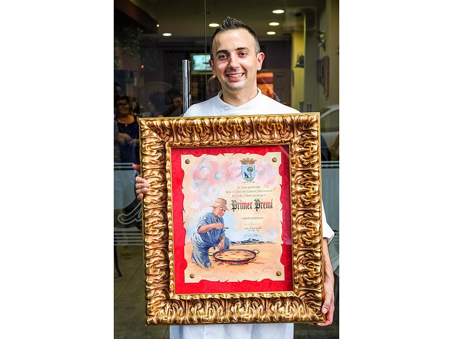 2014年にチャンピオンを獲得したパコ・シェフ