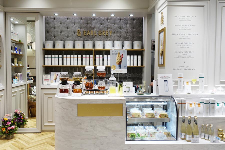 神戸マルイのカフェ&スイーツエリア一角にオープン