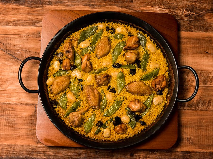 本場のレシピを再現したバレンシア