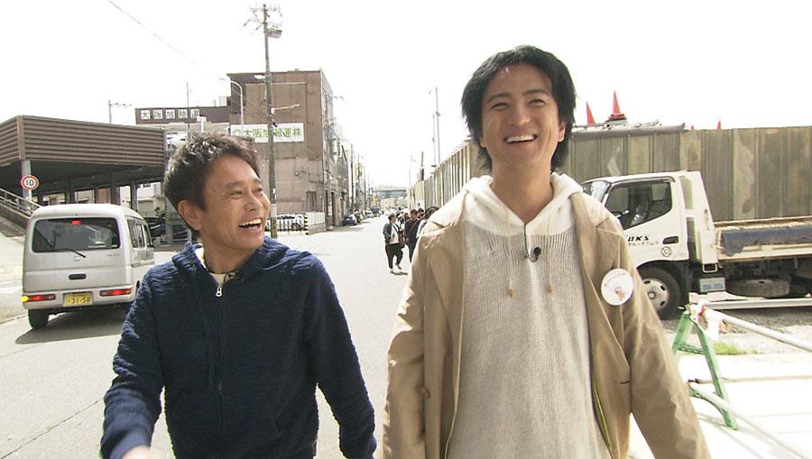 上地家のルーツを探りに、大阪市大正区へ向かう
