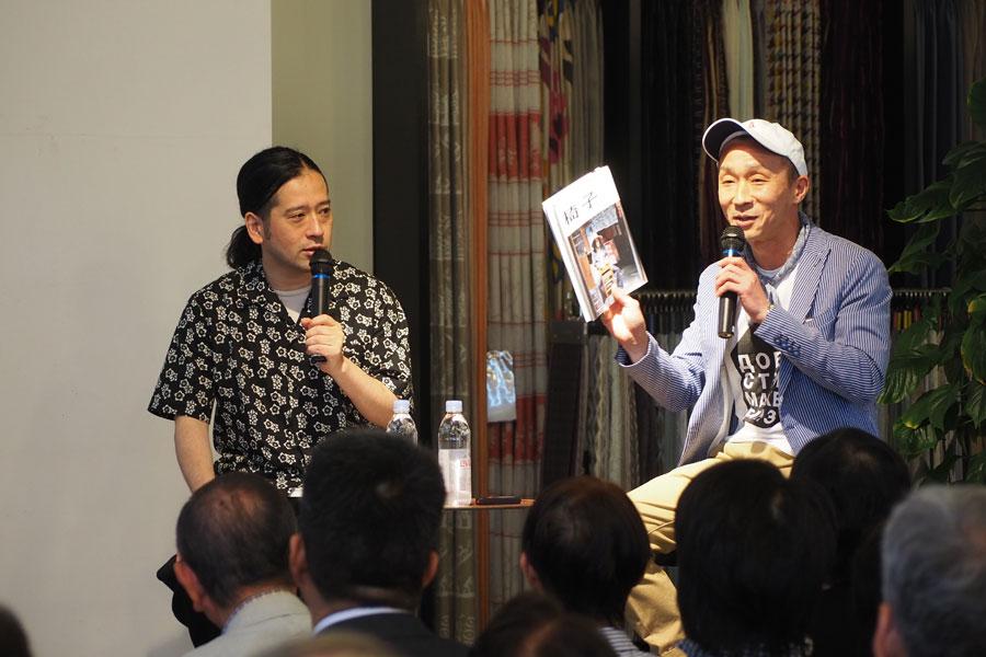 ライフスタイル情報を発信するシニア・エディトリアル・ディレクターの濱口重乃氏と対談