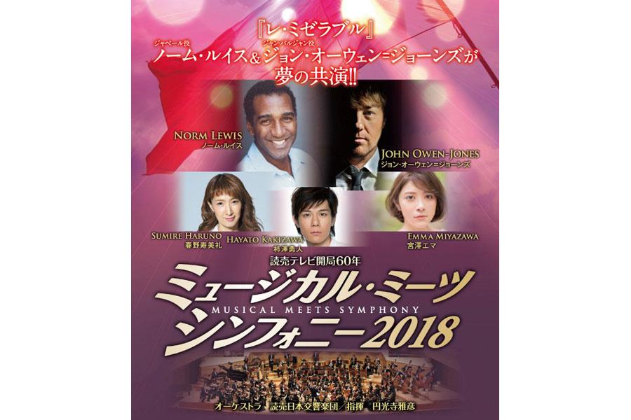 『ミュージカル・ミーツ・シンフォニー2018』ビジュアルイメージ