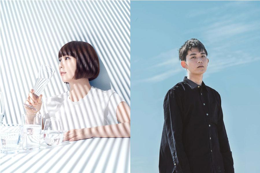 ((左から)土岐麻子、折坂悠太