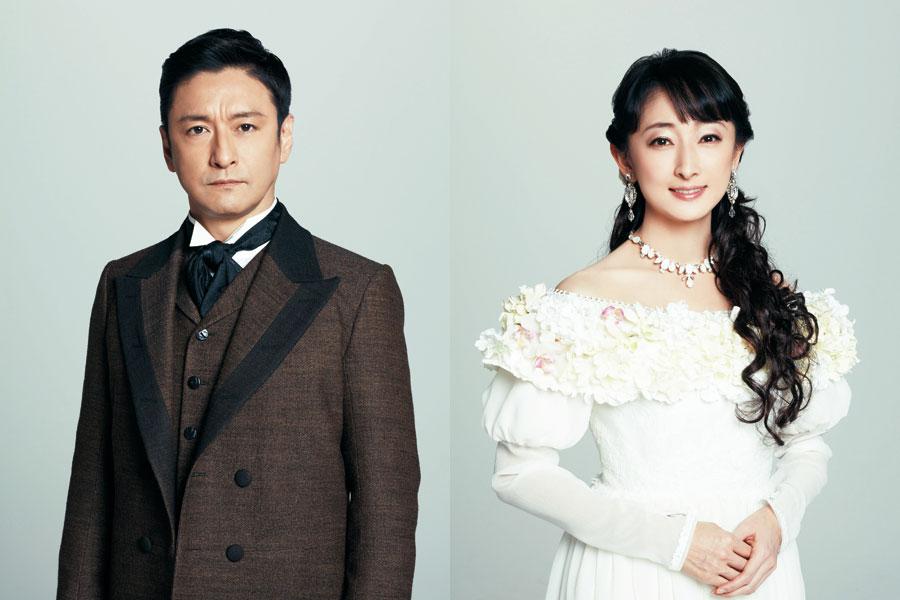 4年ぶりの舞台共演となる石丸幹二(左)と花總まり