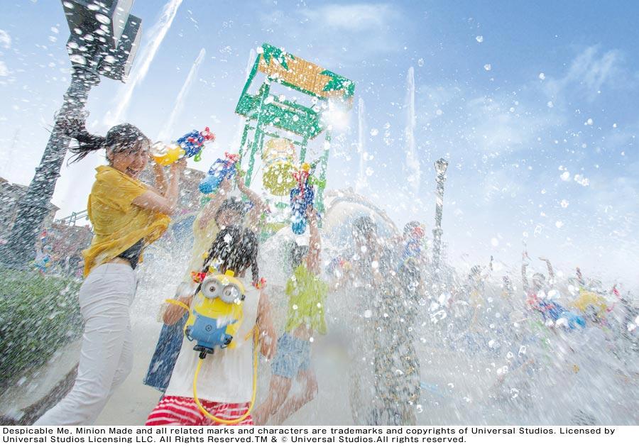 今年の夏も全身びしょ濡れになるイベント『ユニバーサル・サマー・フェスティバル』が開催