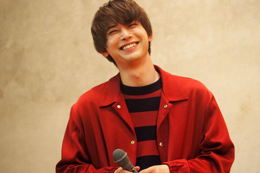 イベントでは終始笑顔だった吉沢亮(2日・京都市内)
