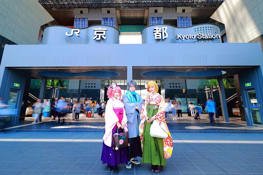 京都の玄関口「京都駅ビル」(北側)