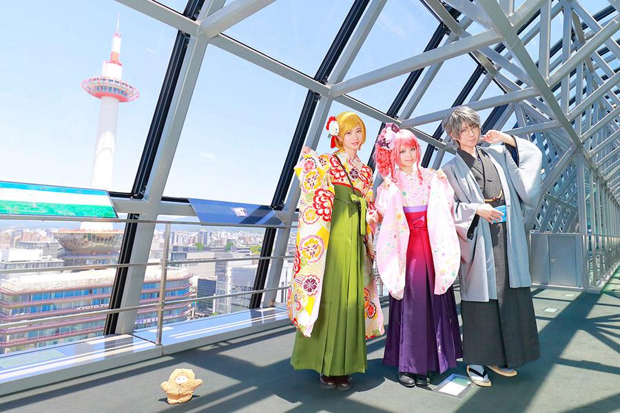 「京都駅ビル」の隠れた名スポット「空中径路」