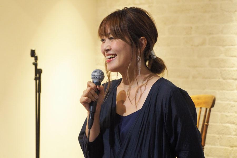 Cat's ISSUE 立ち上げメンバーでもある坂本美雨がスペシャルライブをおこなった