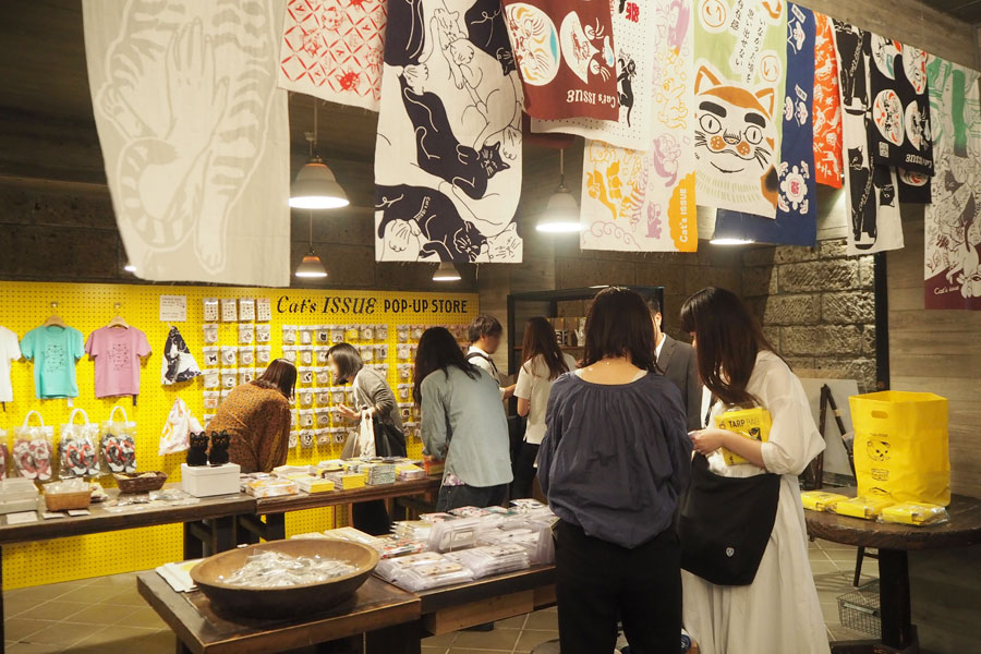 『Cat's ISSUE POP-UP STORE』が開催されている「DOORS HOUSE」