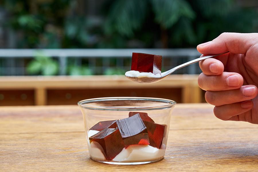 神戸で先行販売する「コールドブリューコーヒーゼリー」は期間限定メニュー