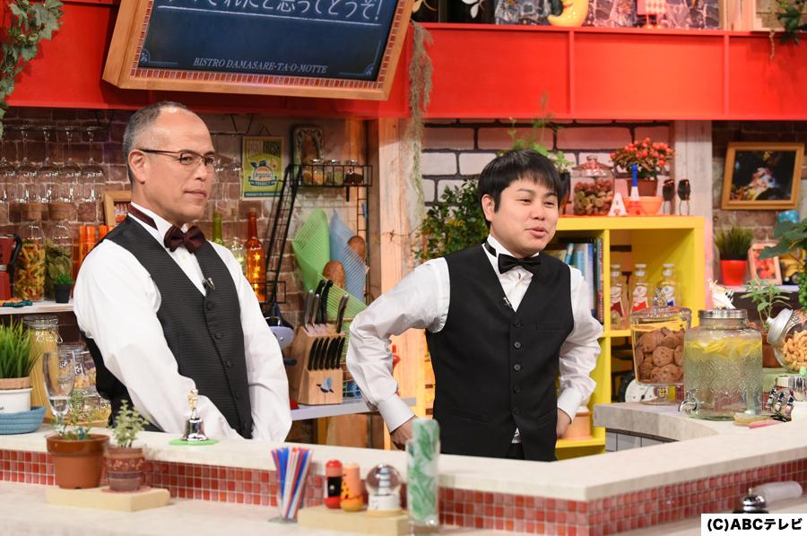 店主をつとめた田中要次と、脱出ゲームのソムリエ・NON STYLE井上