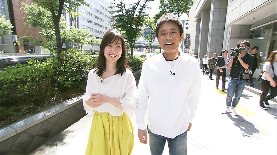 人気女優の黒川智花は、浜田に『ごぶごぶ』への出演を直談判