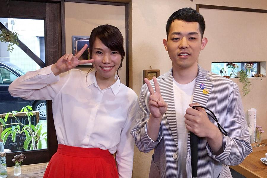 R−1決勝でのサポートが賞賛された女芸人・紺野ぶるまとコントを披露した濱田祐太郎