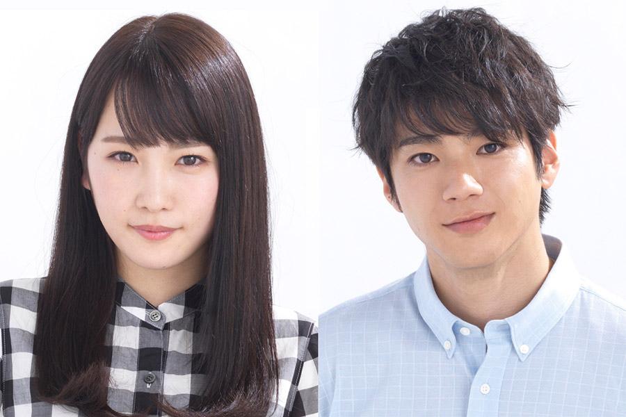 優等生役の川栄李奈(左)とマザコン役の山田裕貴