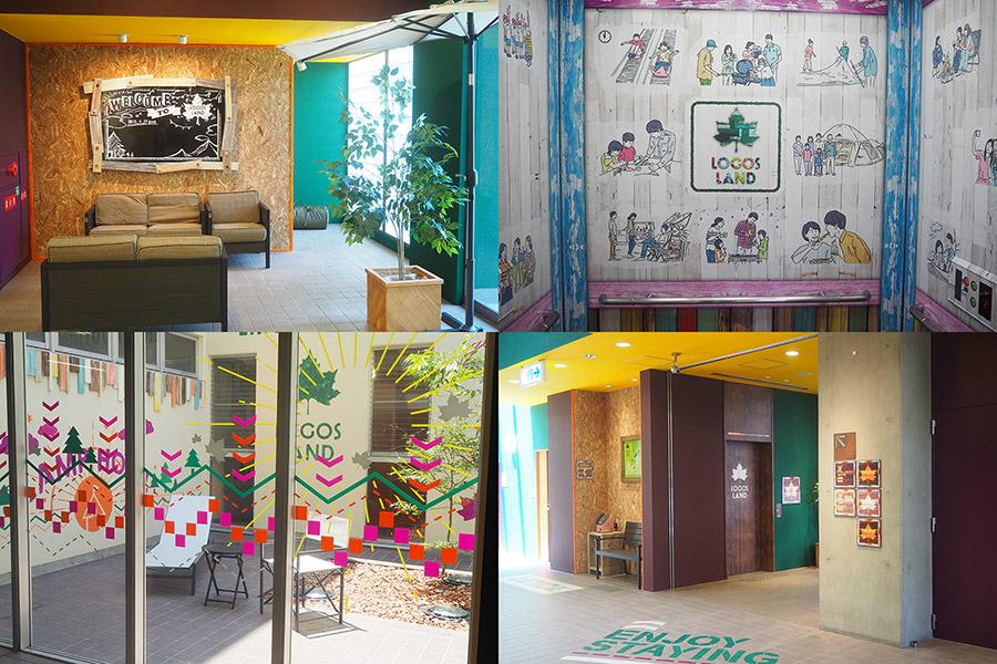 カラフルな内装がまるでテーマパークのようなホテル「プラムイン城陽」(京都府城陽市)