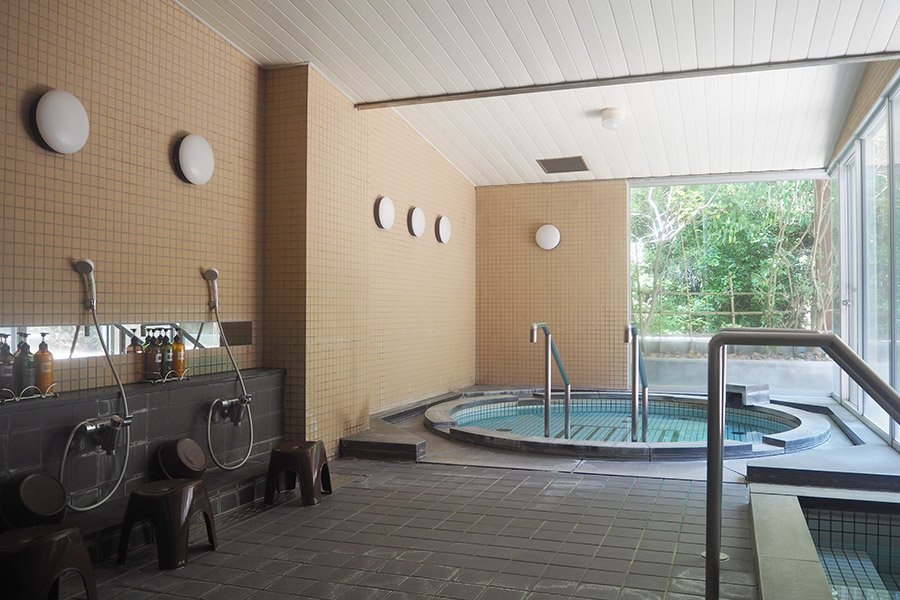 大浴場のみの利用(中学生以上600円、小学生300円)もOK(京都府城陽市)