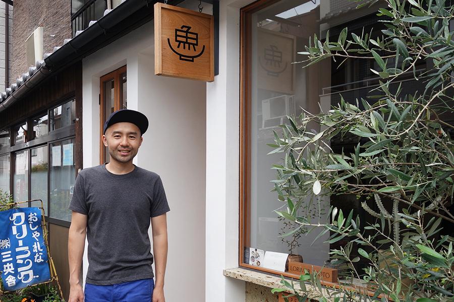 ニューヨークと京都を行き来する原口雄次オーナー。「朝ごはんを旅行の楽しみにして欲しいと思っています。楽しい経験はきっと忘れない。その経験を提供できる場所でありたいです」