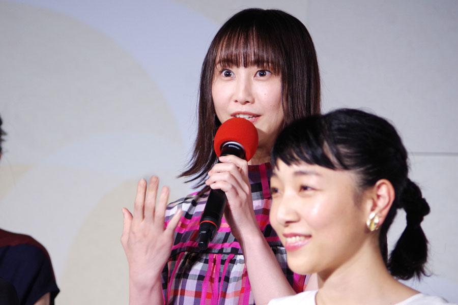 「福ちゃんに寄り添っていけたら良いなと思っています。楽しんで全力でいきたい」と松井