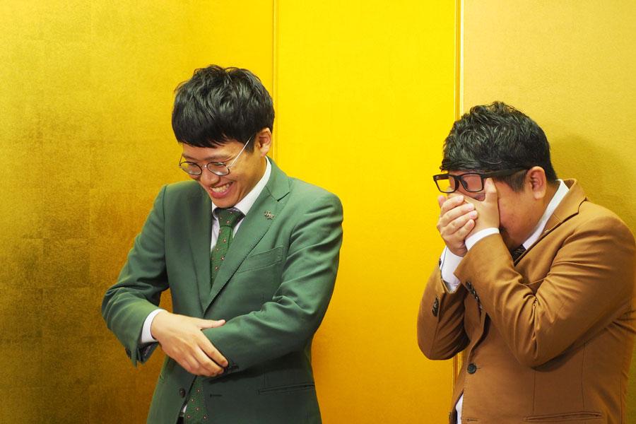 「やばい〜マミちゃんに怒られる〜」と発言に後悔する昴生(右)
