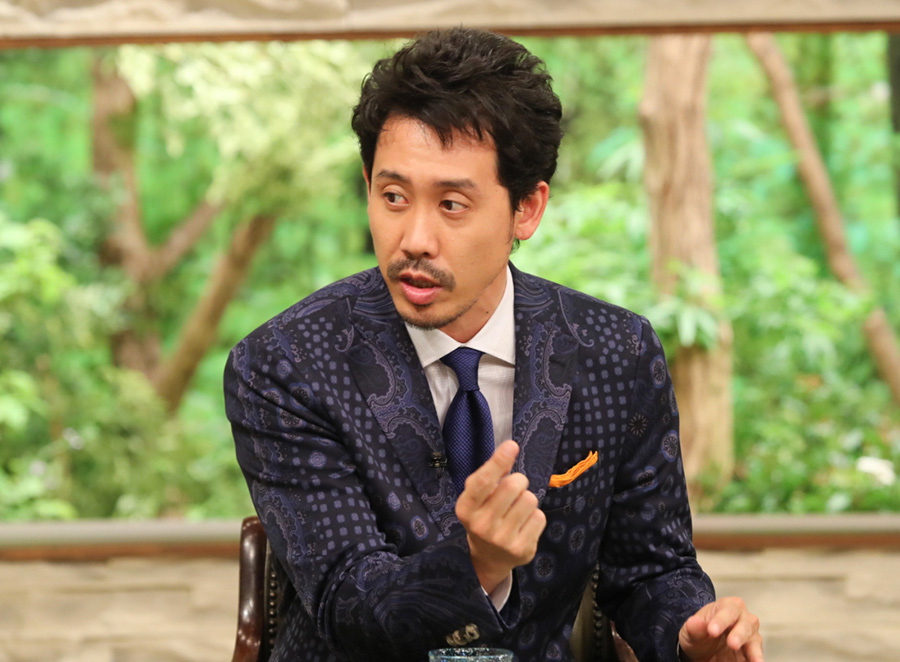 ゲストは俳優の大泉洋。故郷の北海道や、子ども時代について語る