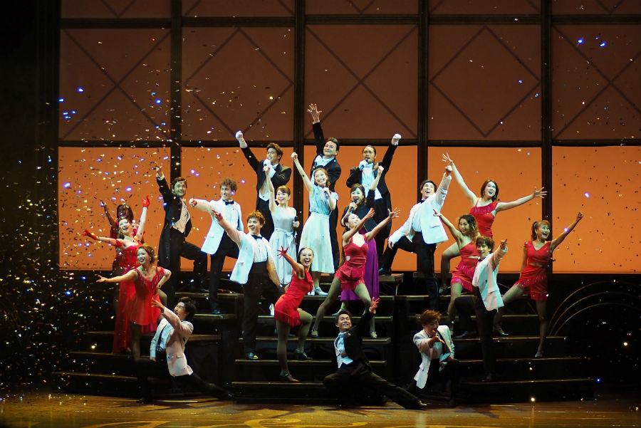 公開された『ソング&ダンス 65』舞台稽古の様子