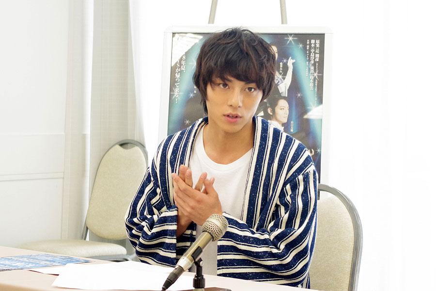 21歳で上京。『東京ワンピースタワー』では1300公演もこなしたという永田