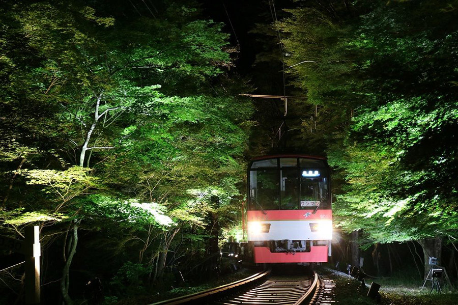 7月1日から運行される叡山電鉄「七夕伝車」