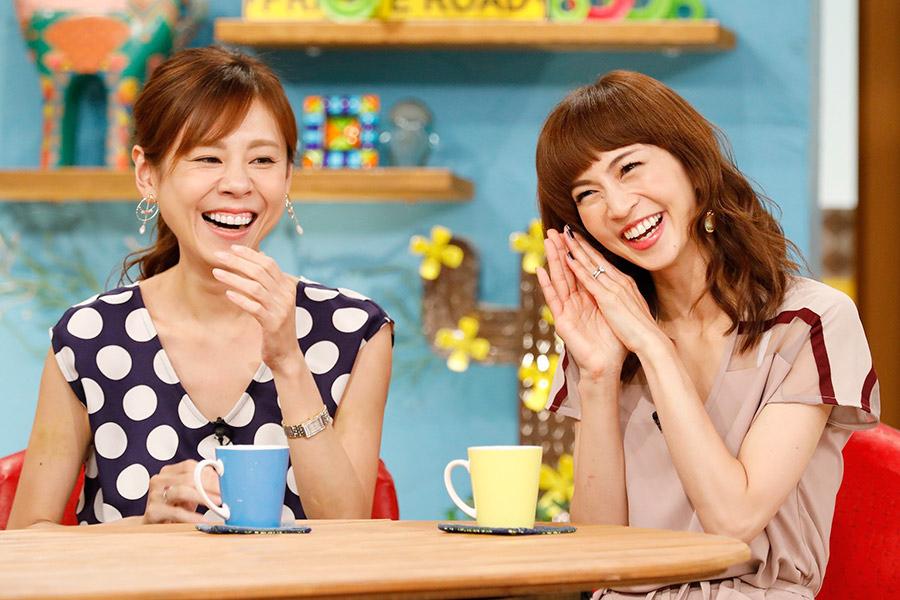 ゲストで登場した高橋真麻(左)と安田美沙子