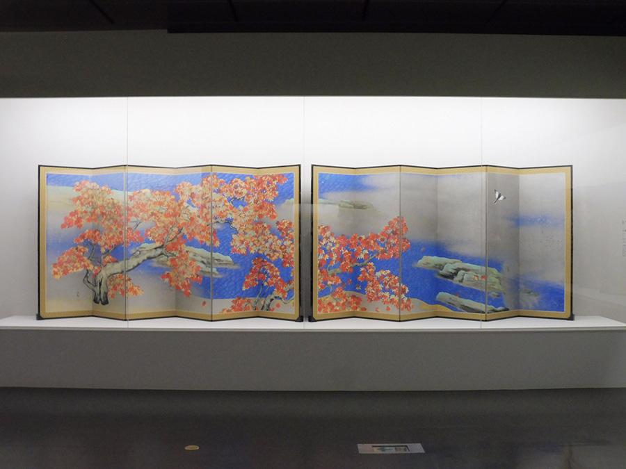 《紅葉》 昭和6年(1931)9月 足立美術館 展示期間:前期(6/8〜7/1)